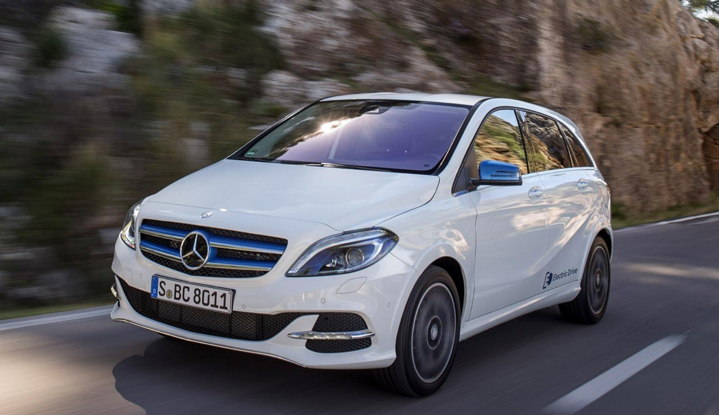mercedes b-class electric drive launched in britain, costs the