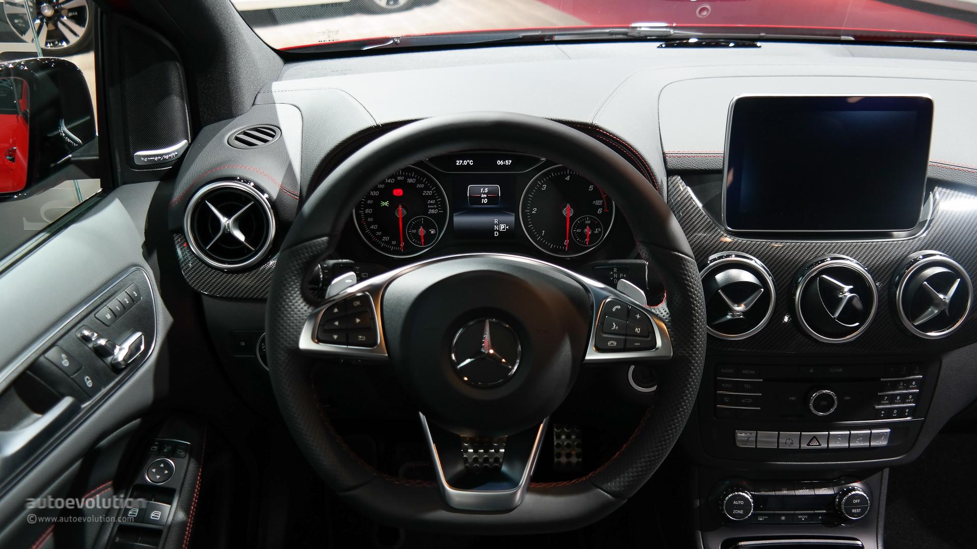 Mercedes B Class Facelift Debuts At Paris Motor Show 2014