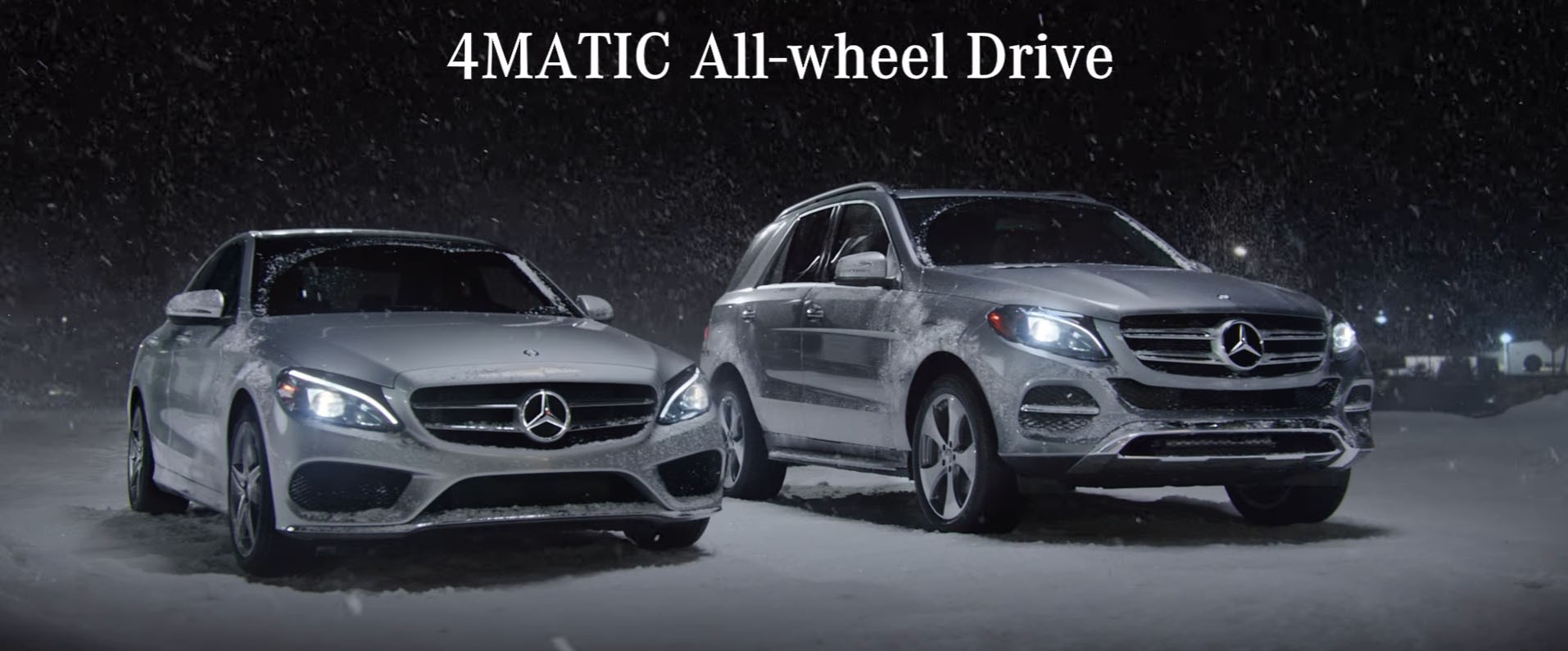 Mercedes benz 4matic winter commercial will appeal to the for Mercedes benz commercial