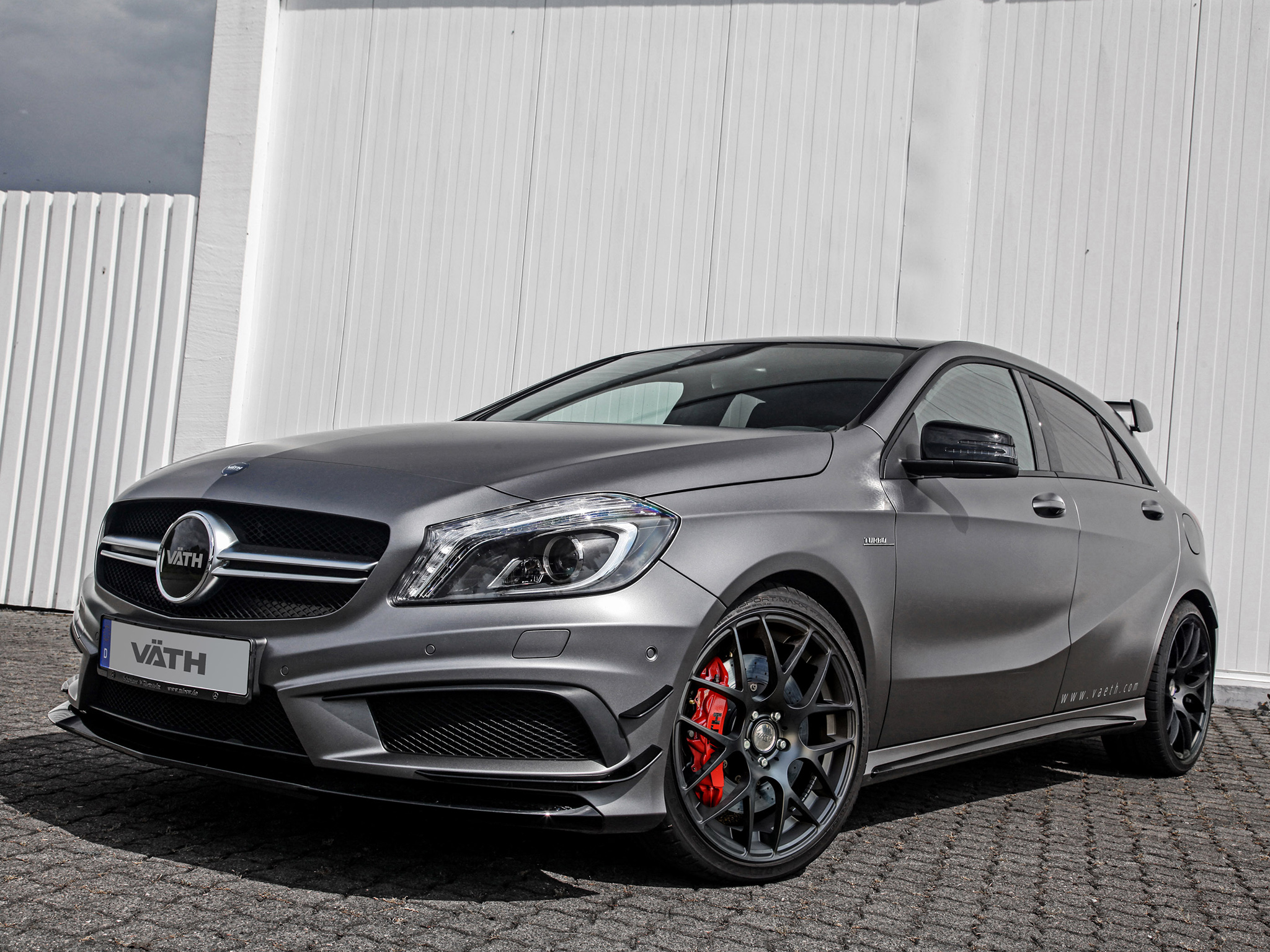 Mercedes benz a 45 amg tuned by vath to 425 hp autoevolution for Mercedes benz tuner