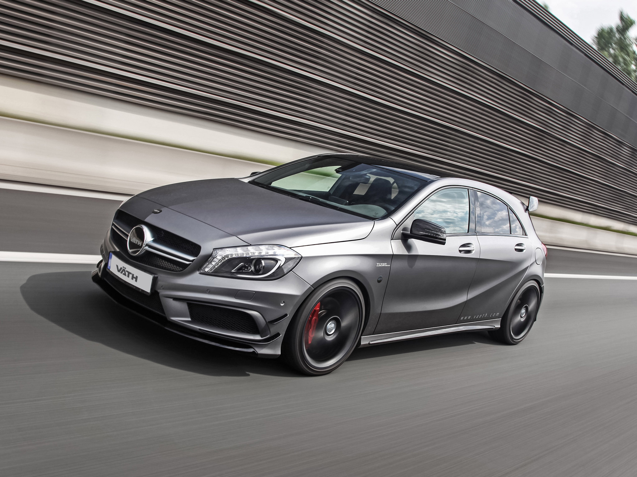 mercedes benz a 45 amg tuned by vath to 425 hp autoevolution. Black Bedroom Furniture Sets. Home Design Ideas