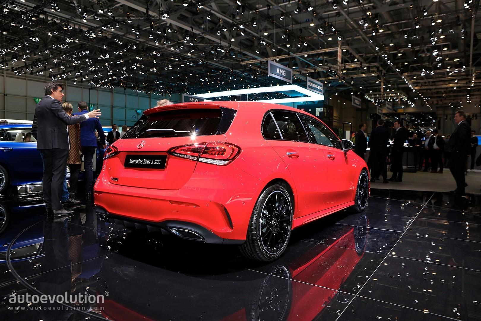 2018 Mercedes Benz A Class W177 Production Kicks Off