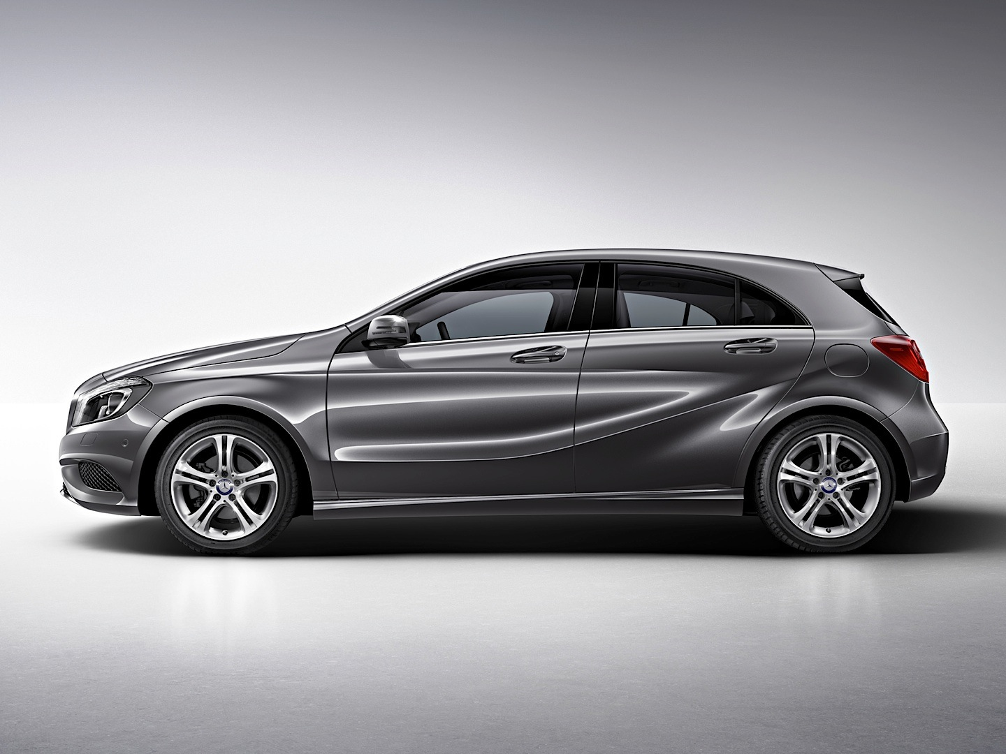 Mercedes Benz A Class Reviewed By Hot Anastasia Tregubova