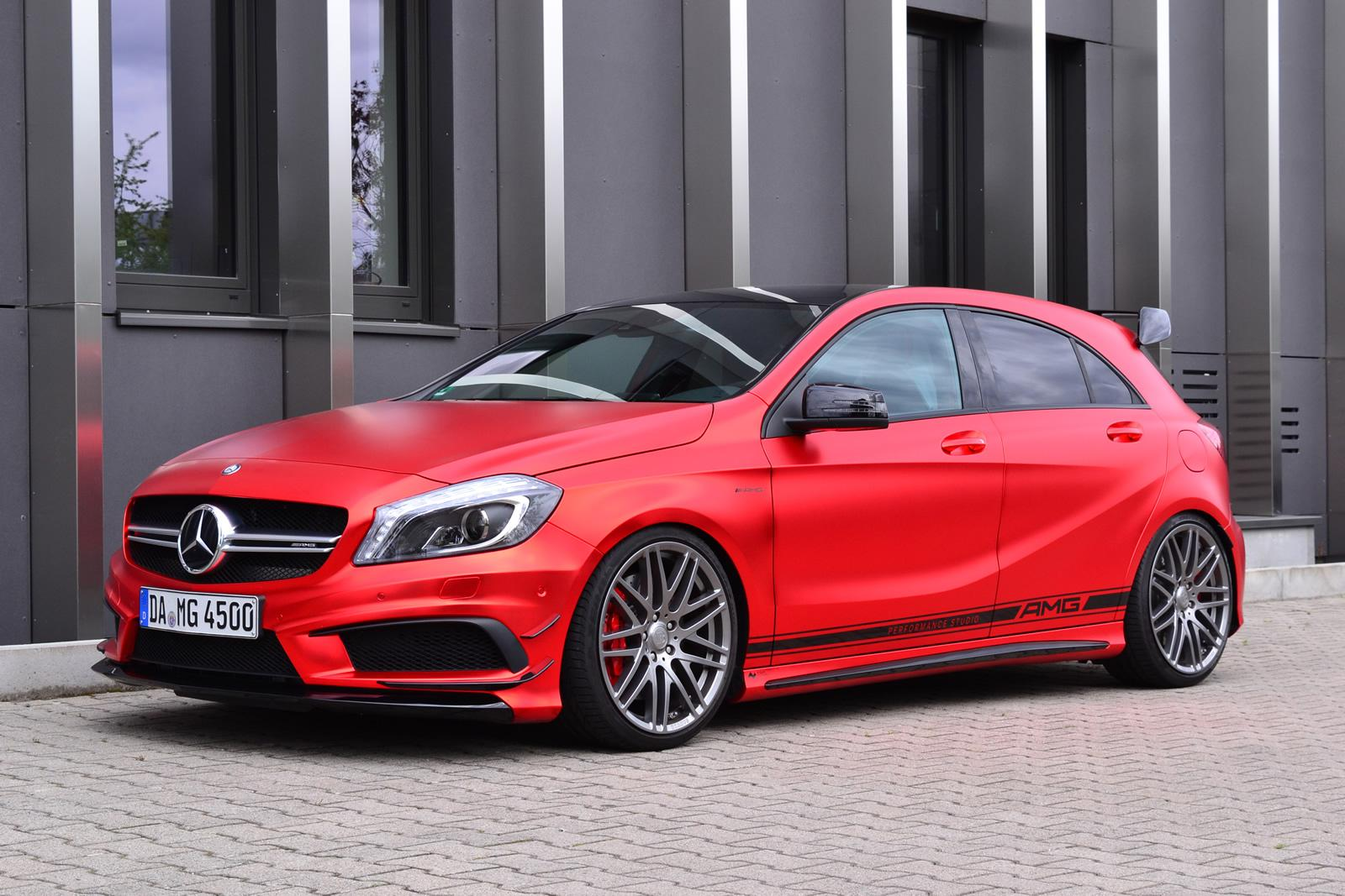 A45 amg s to get 385 hp and a new bumper to compete with for Mercedes benz a45 amg