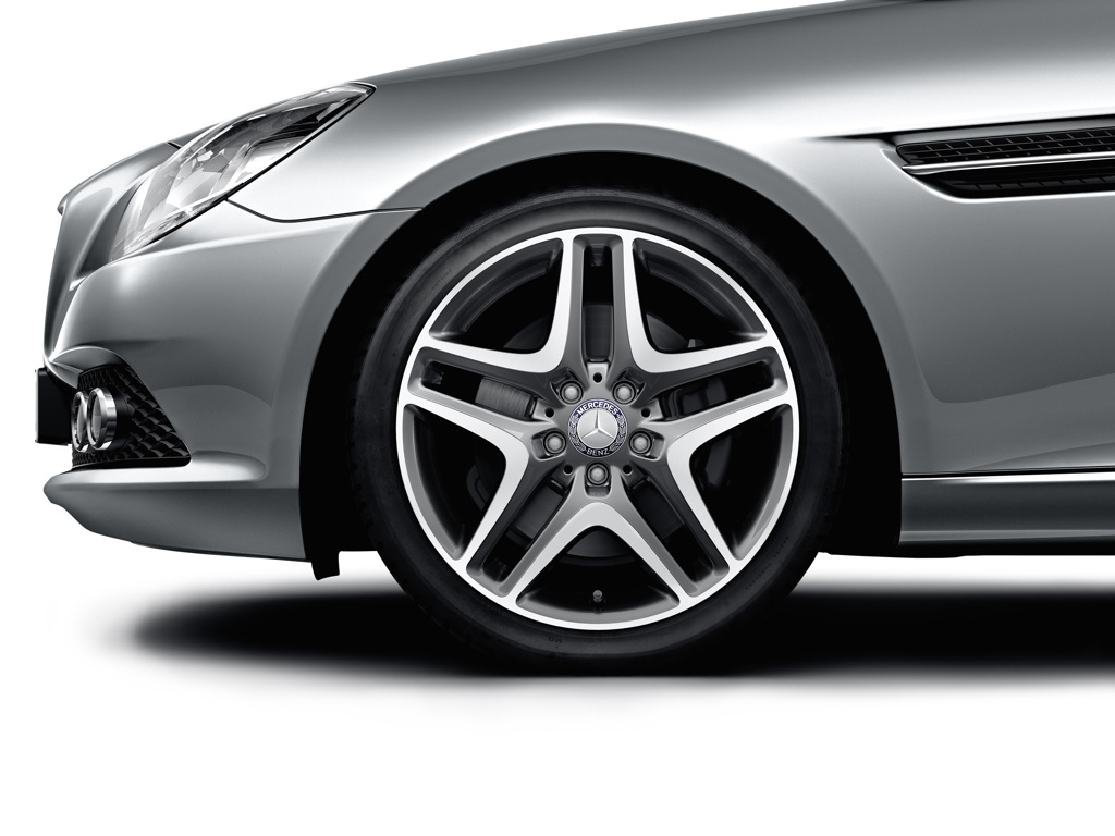 Mercedes benz accessories adds new light alloy wheels for Mercedes benz accessories