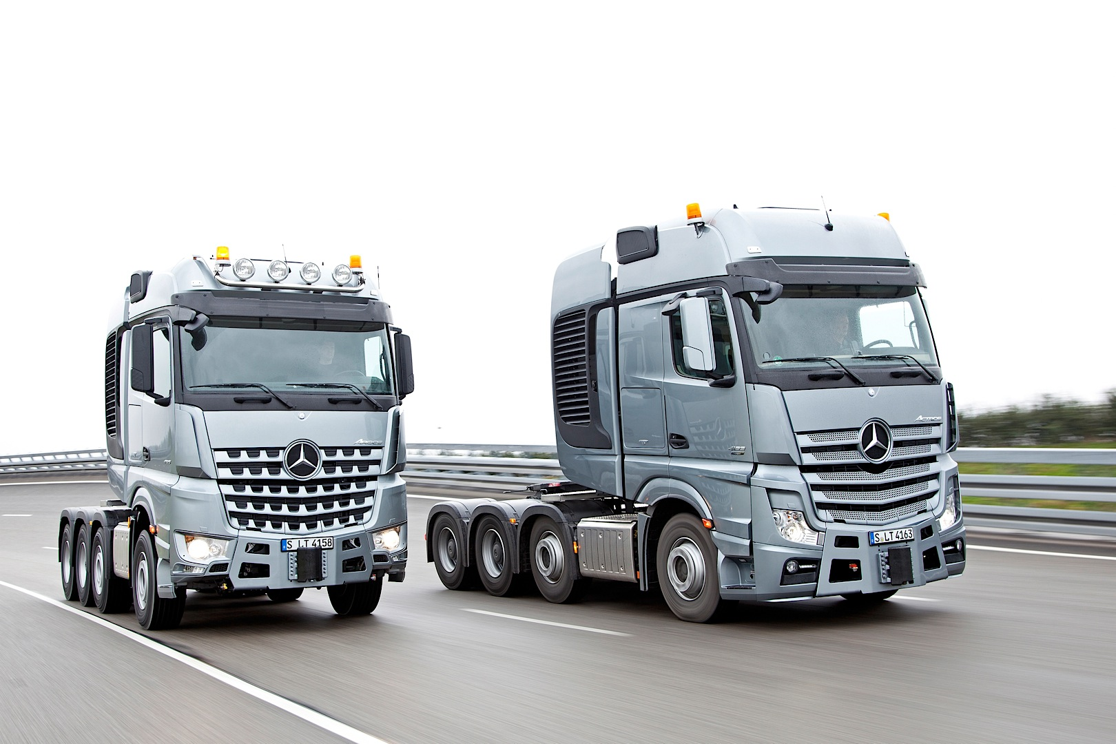Mercedes benz actros slt and arocs slt can haul anything for Mercedes benz trucks price list