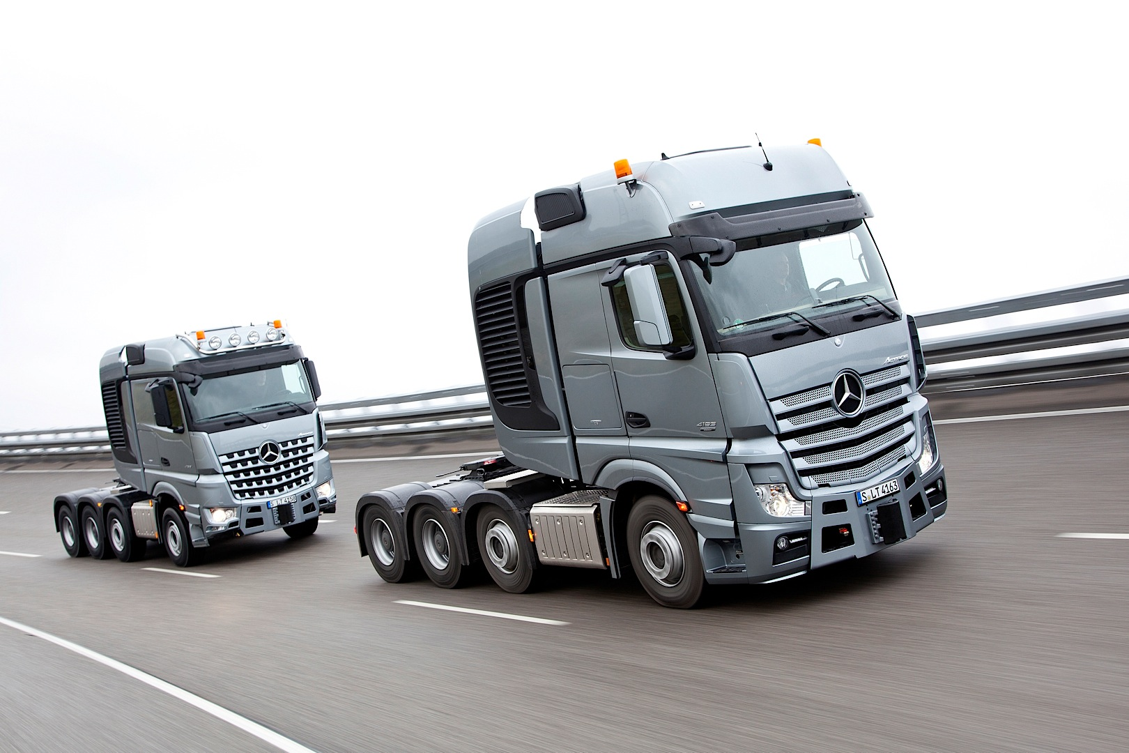 Mercedes Benz Actros Slt And Arocs Slt Can Haul Anything