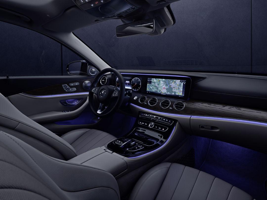 Mercedes Benz And Artemide Bring The S Class Lighting