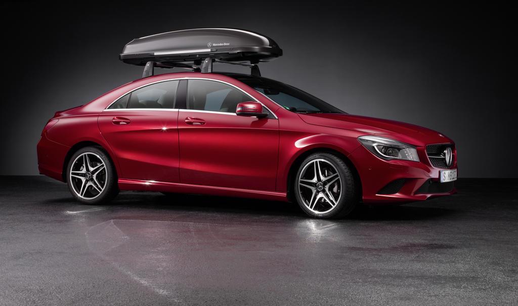 Mercedes benz announces 2014 cla accessories autoevolution for Accessories mercedes benz