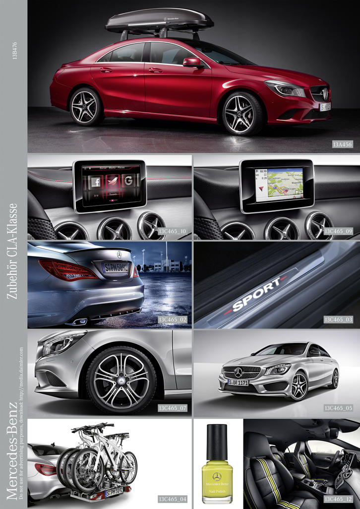 Mercedes Benz Announces Cla Accessories Photo Gallery on Mercedes Benz Car Dealerships