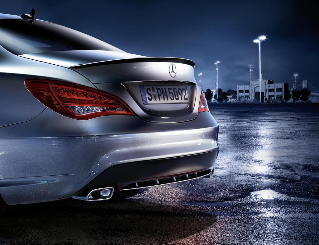 Mercedes benz announces 2014 cla accessories autoevolution for Mercedes benz usa accessories