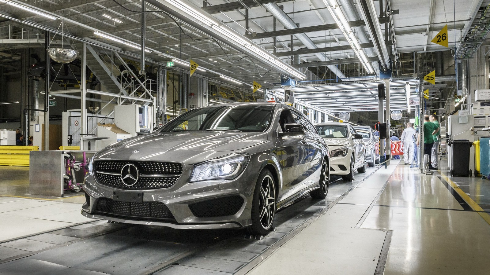Mercedes Benz Will Also Build Rwd Models In Hungary