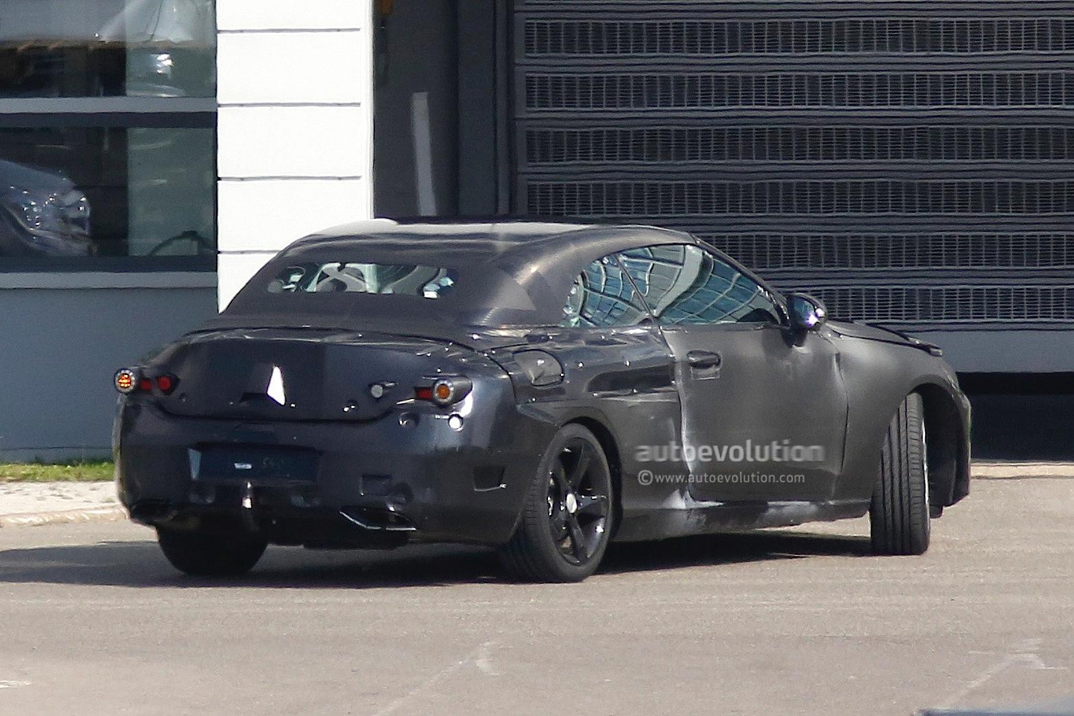 Mercedes benz c class cabrio a205 returns in new spyshots for Mercedes benz lease return