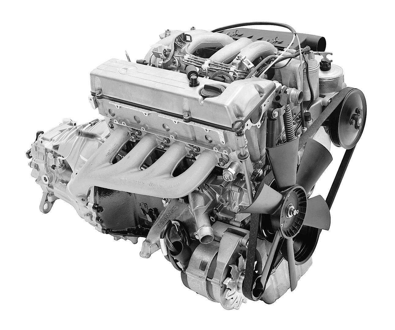 Mercedes Benz C Class Powertrain Milestones Autoevolution M117 Engine