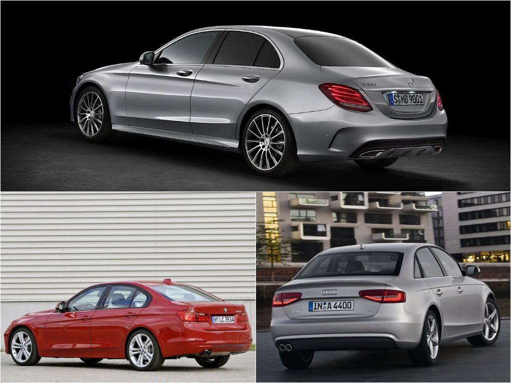 Mercedes Benz C Class W205 Vs Bmw 3 Series F30 Vs Audi A4