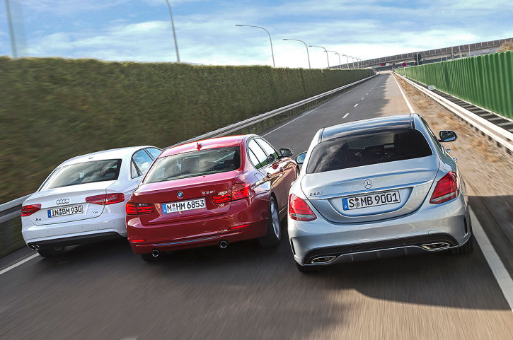 Mercedes Benz C Class W205 Vs Bmw 3 Series F30 Vs Audi A4 B8