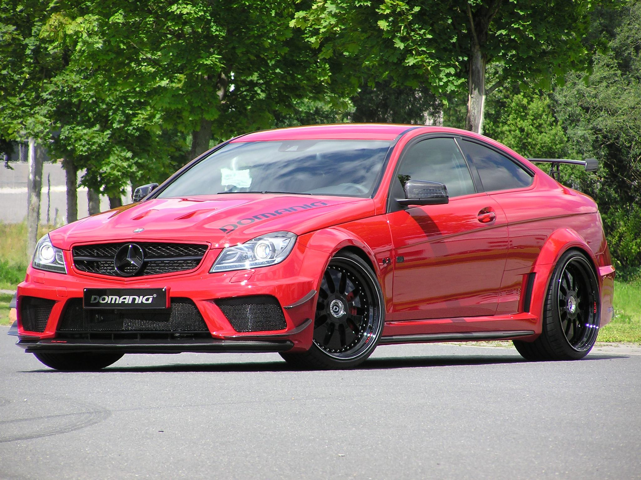 mercedes benz c63 amg coupe black series by domanig