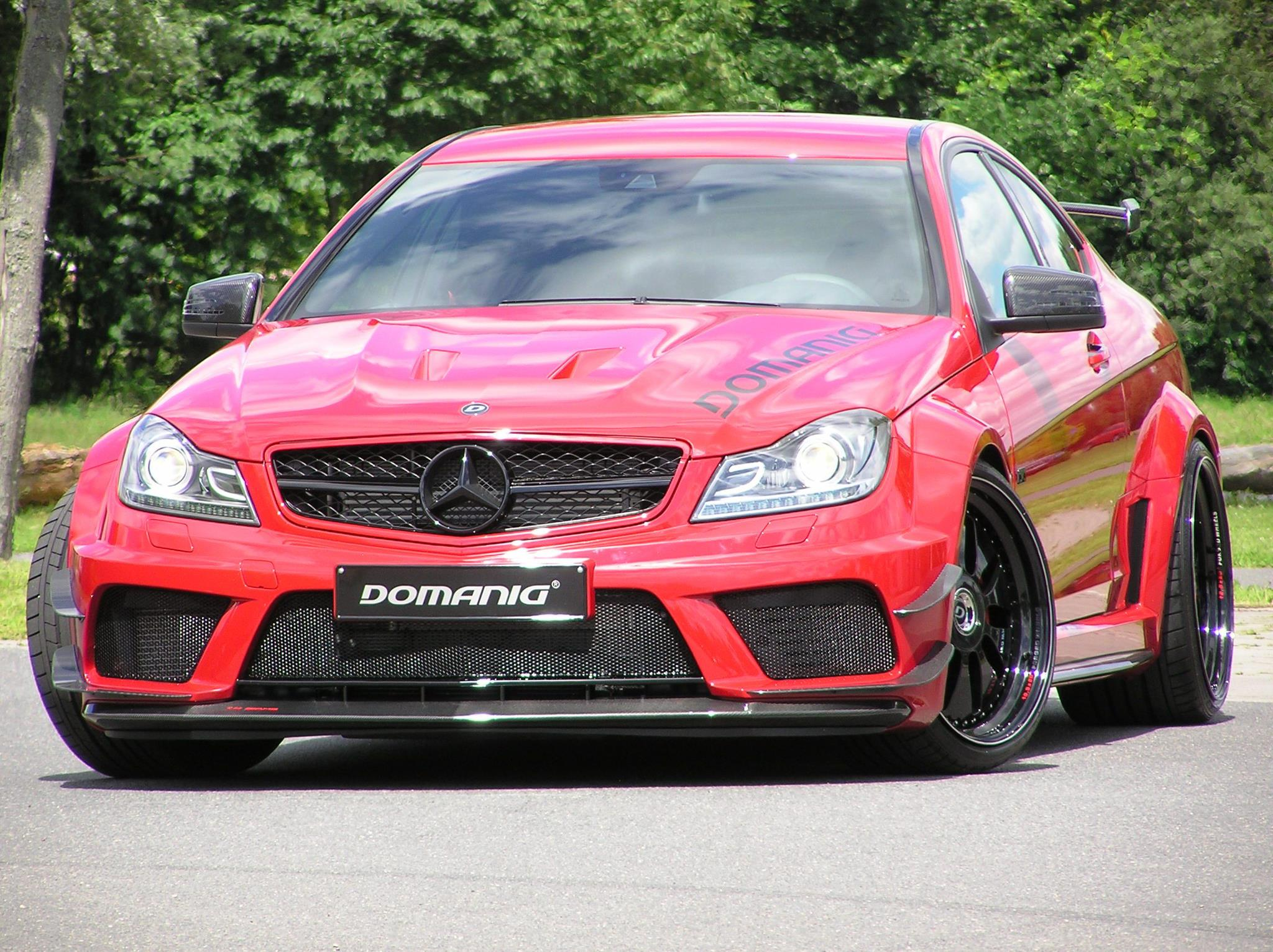 Mercedes benz c63 amg coupe black series by domanig for Mercedes benz 600 amg