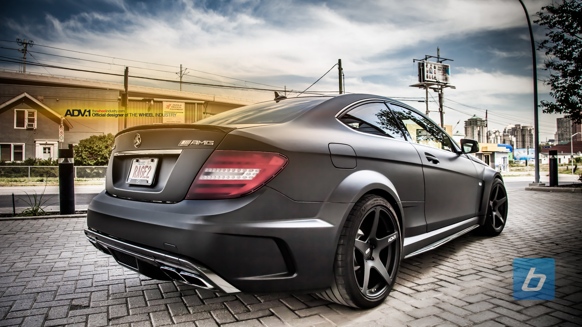 Mercedes-Benz C63 AMG Coupe Black Series Eye Candy ...