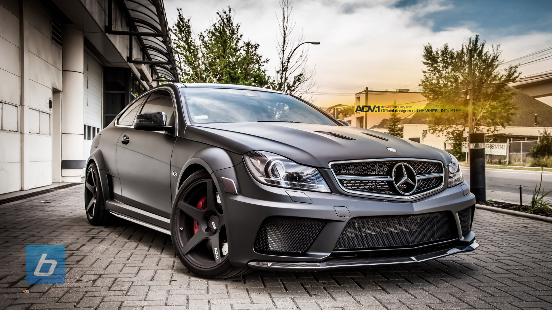Mercedes Benz C63 Amg Coupe Black Series Eye Candy