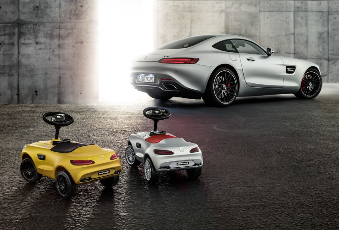 Mercedes Benz Celebrates 20 Years Since Its First Bobby Car With