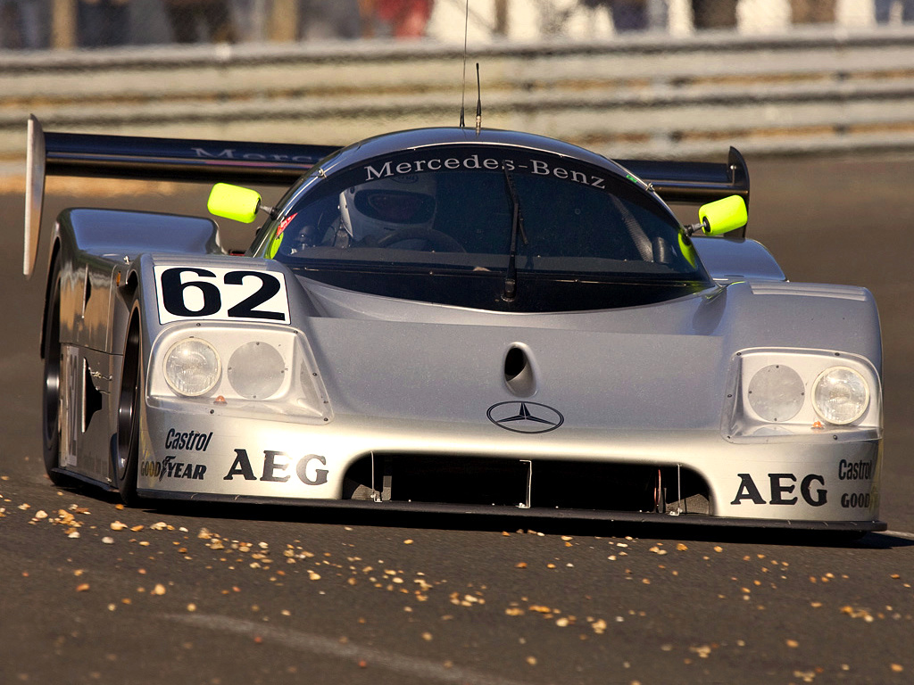 Mercedes-Benz Celebrates 25 Years From Le Mans 24 Hours ...