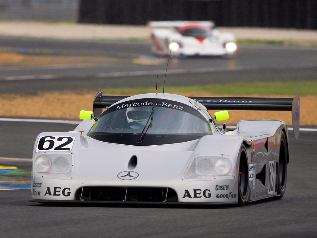 mercedes benz celebrates 25 years from le mans 24 hours. Black Bedroom Furniture Sets. Home Design Ideas