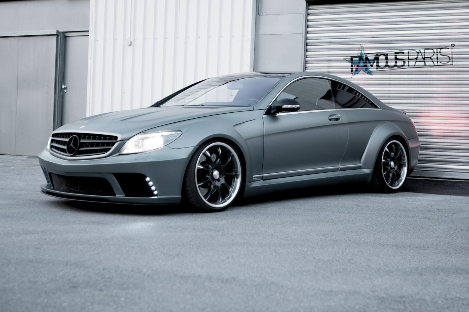 mercedes benz cl63 amg tuned by famous parts
