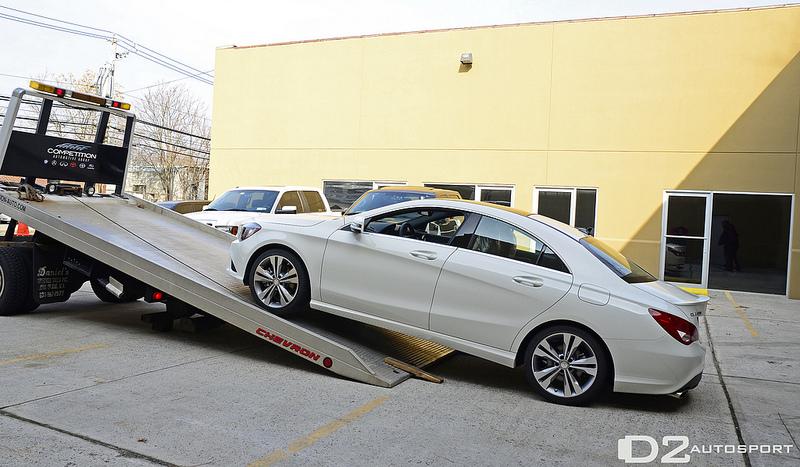 Mercedes Benz Cla D2 Edition Looks Clean Autoevolution