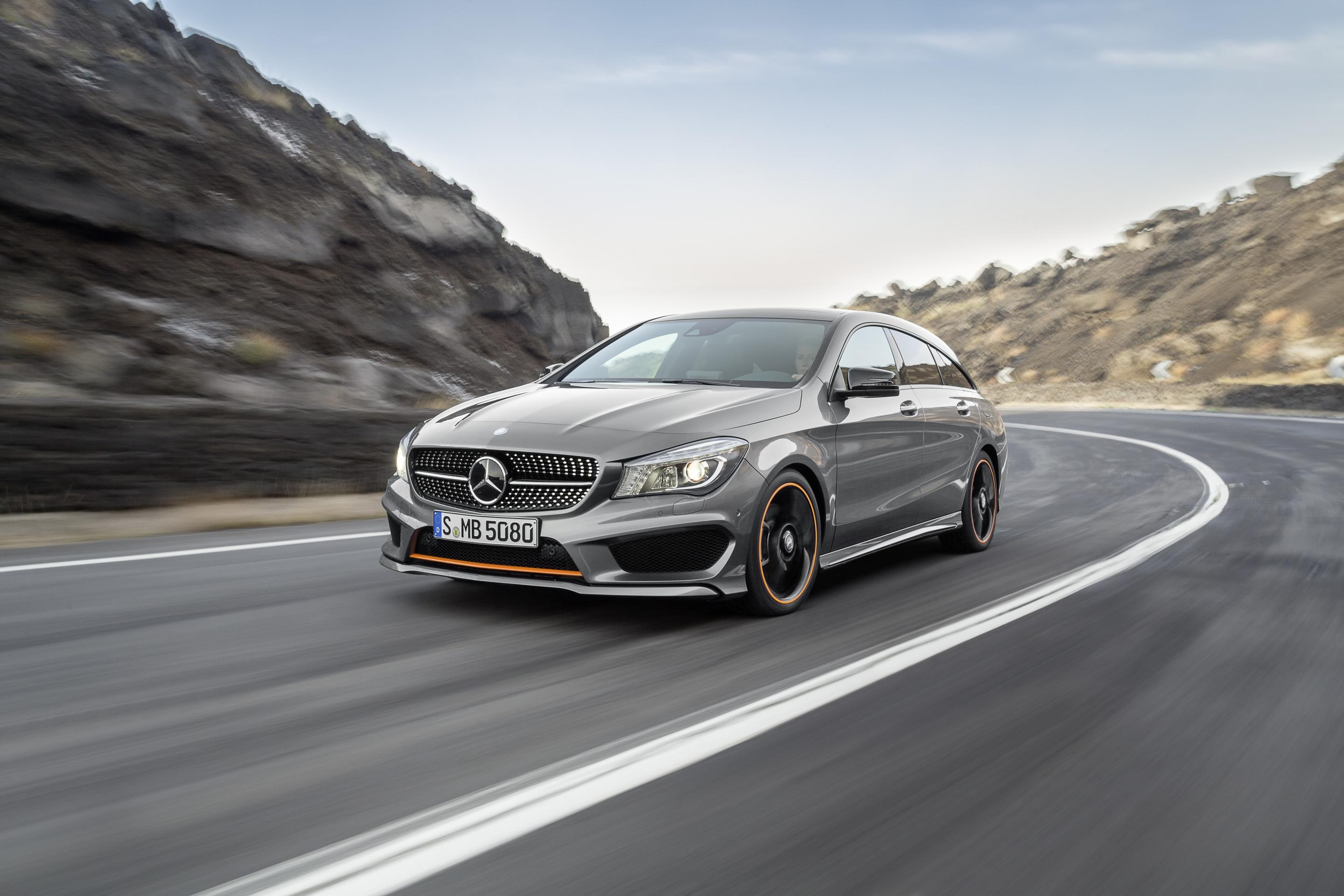 2015 cla 45 amg shooting brake x117 caught near stuttgart. Black Bedroom Furniture Sets. Home Design Ideas