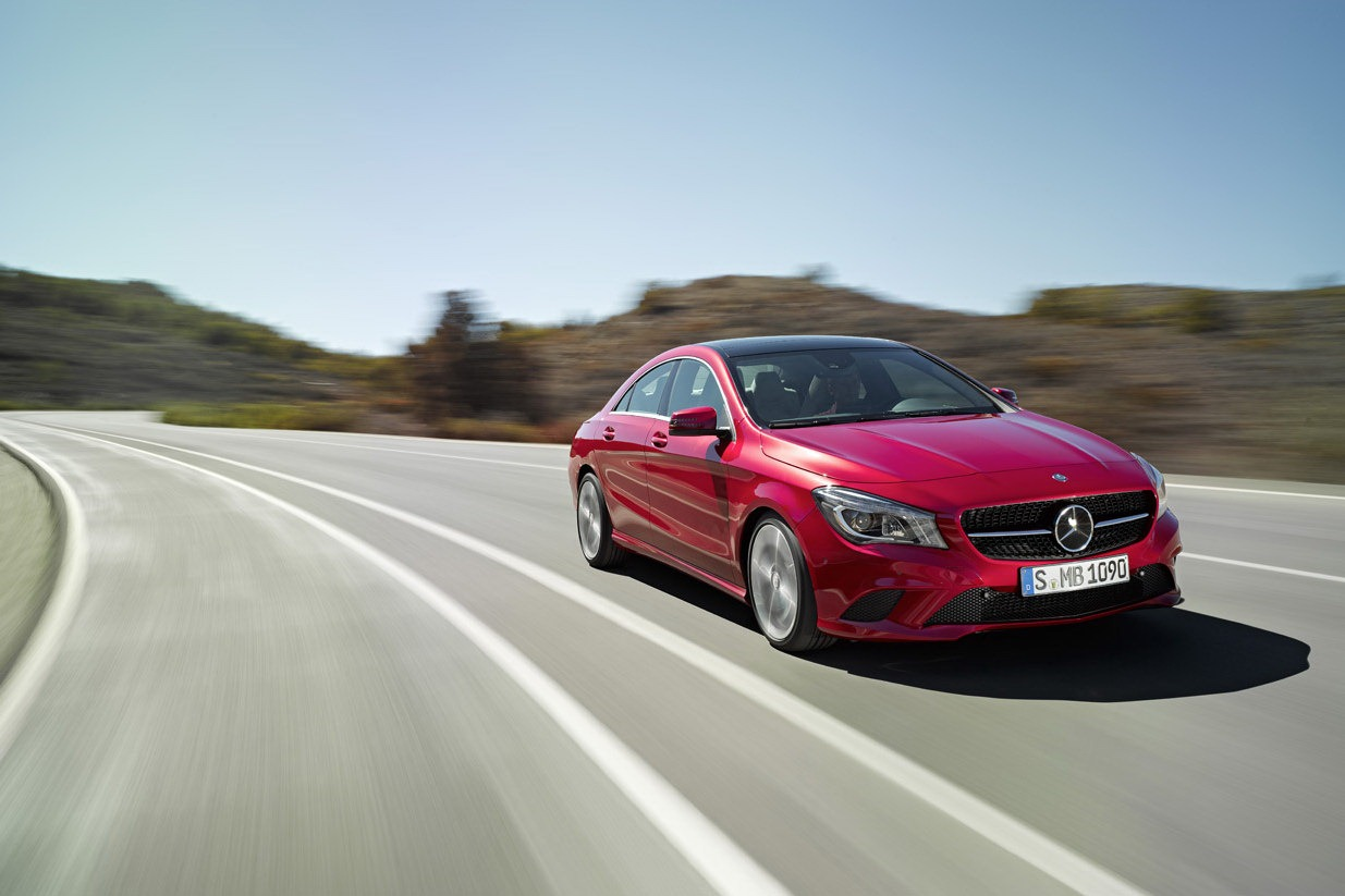 Mercedes benz cla pricing and engines announced for Brand new mercedes benz price