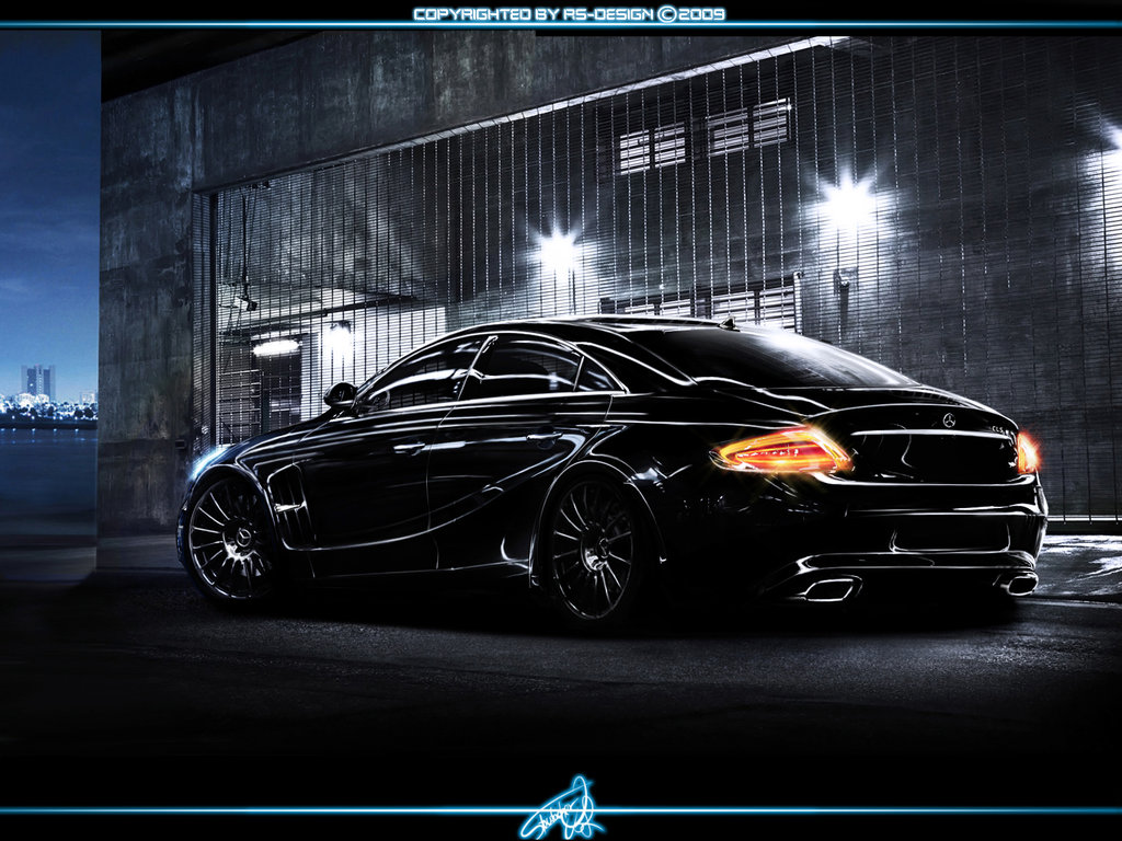 Mercedes benz cls rendering takes us to another world for Cls home