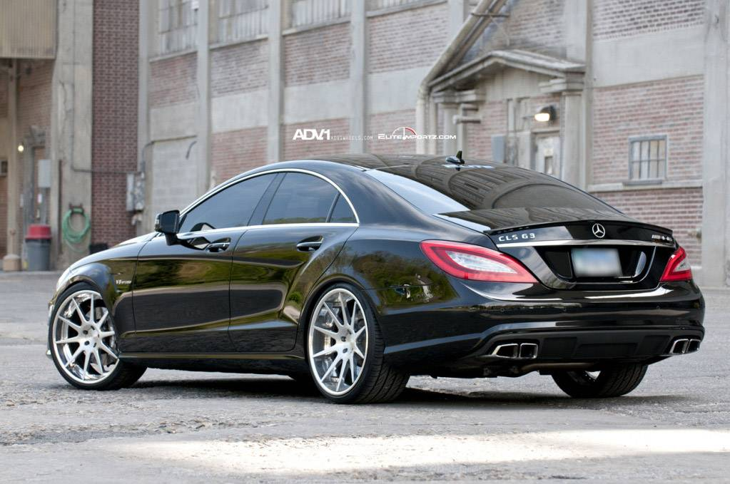 Mercedes Benz Cls63 Amg On Adv10 Deep Concave Wheels Autoevolution