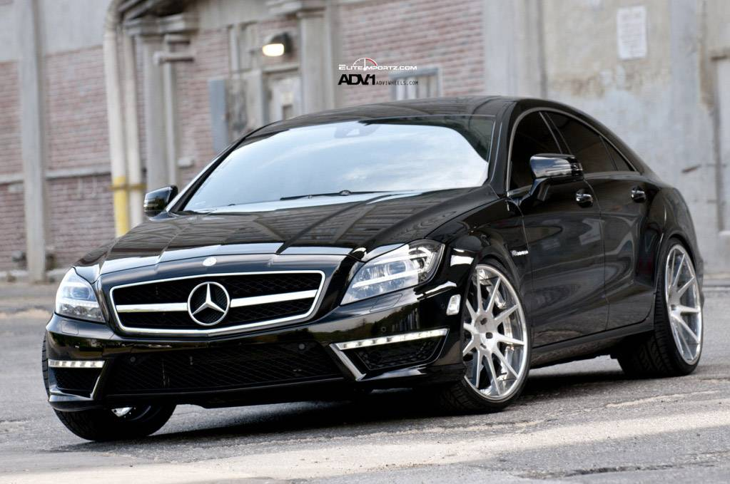 Mercedes Benz Cls63 Amg On Adv10 Deep Concave Wheels