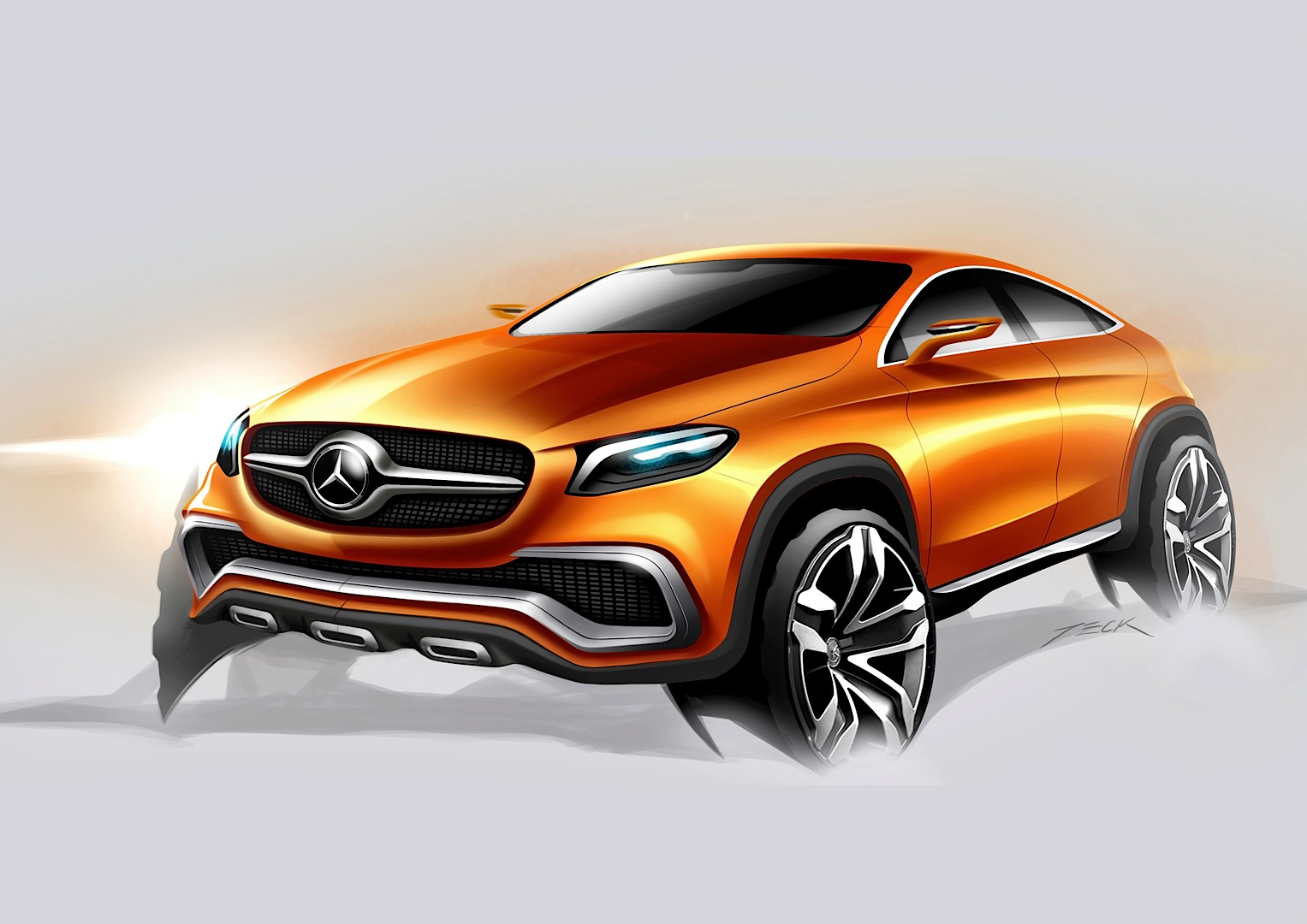 Mercedes benz concept coupe suv officially revealed autoevolution