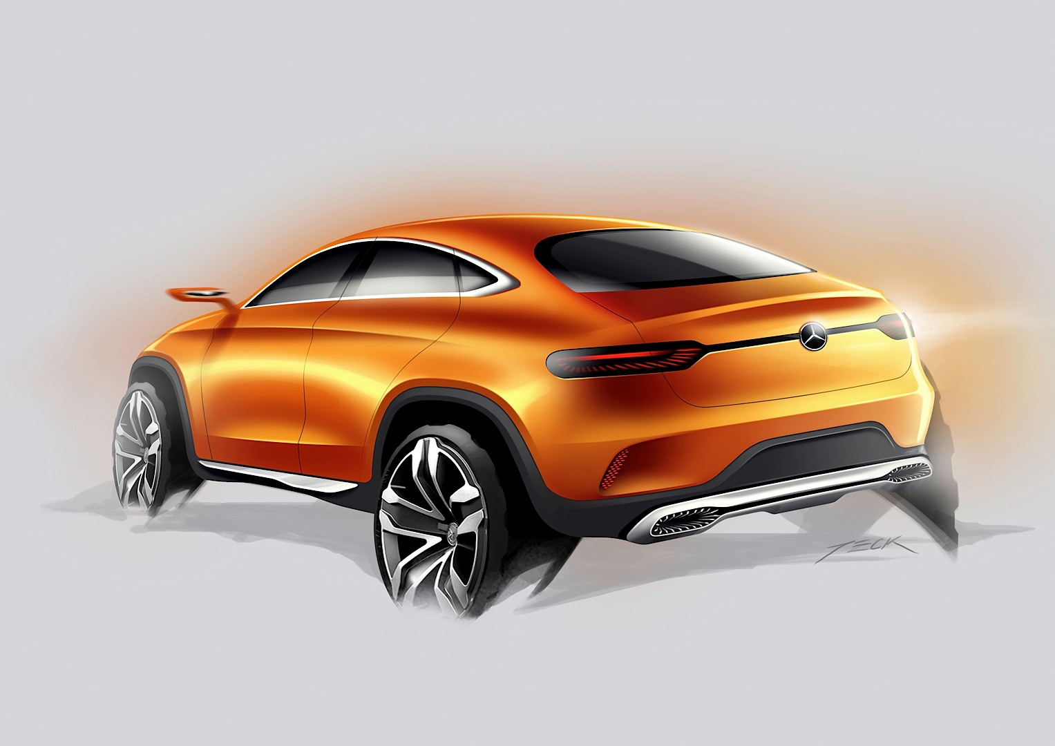 Mercedes benz concept coupe suv officially revealed for Mercedes benz suv coupe