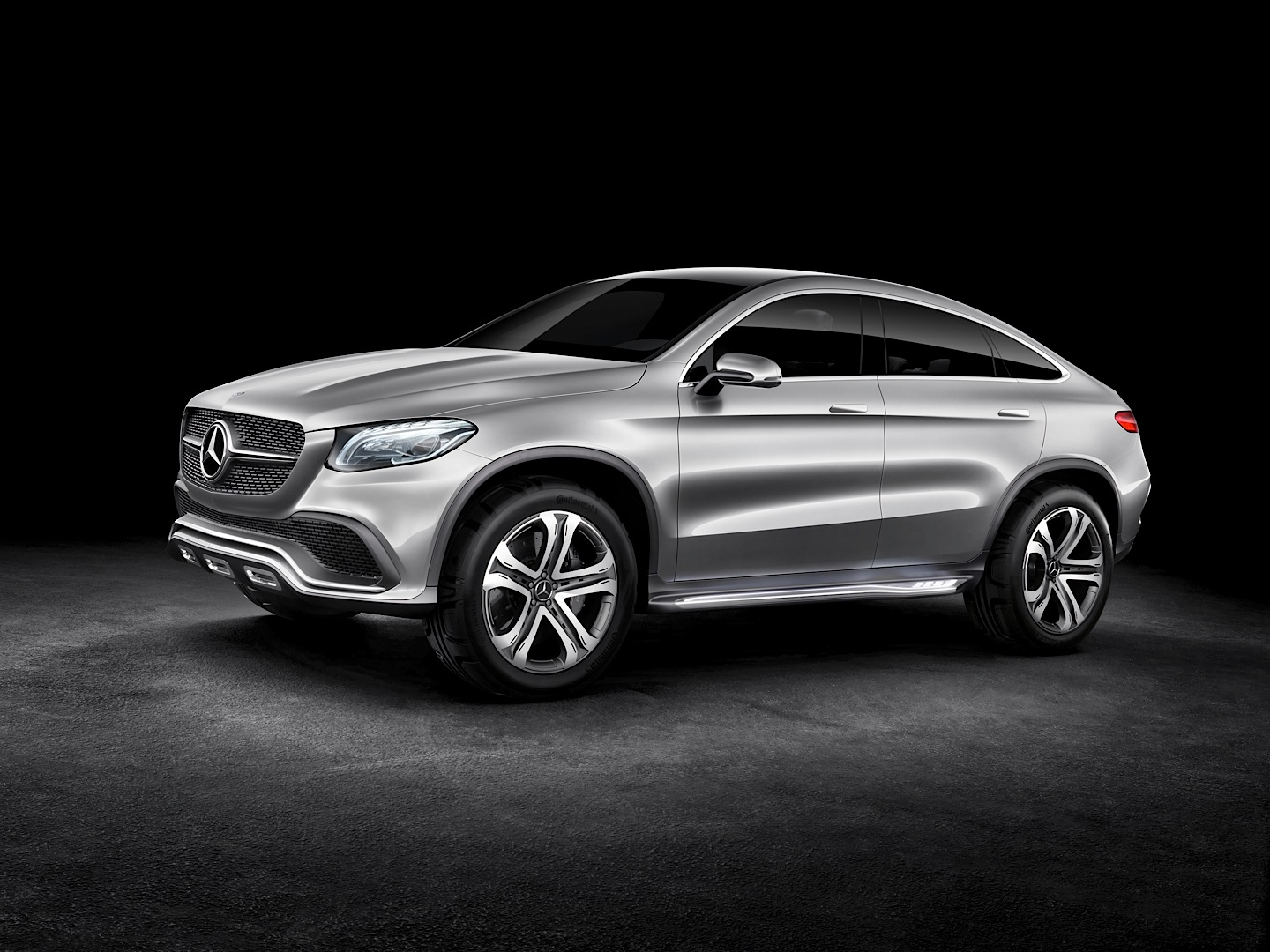 Mercedes Benz Concept Coupe Suv Officially Revealed