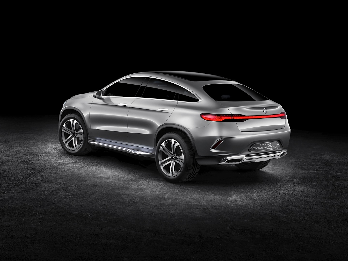 Mercedes benz concept coupe suv officially revealed for Mercedes benz future