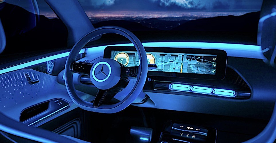 Mercedes benz concept eq shines in new photo shoot for All mercedes benz