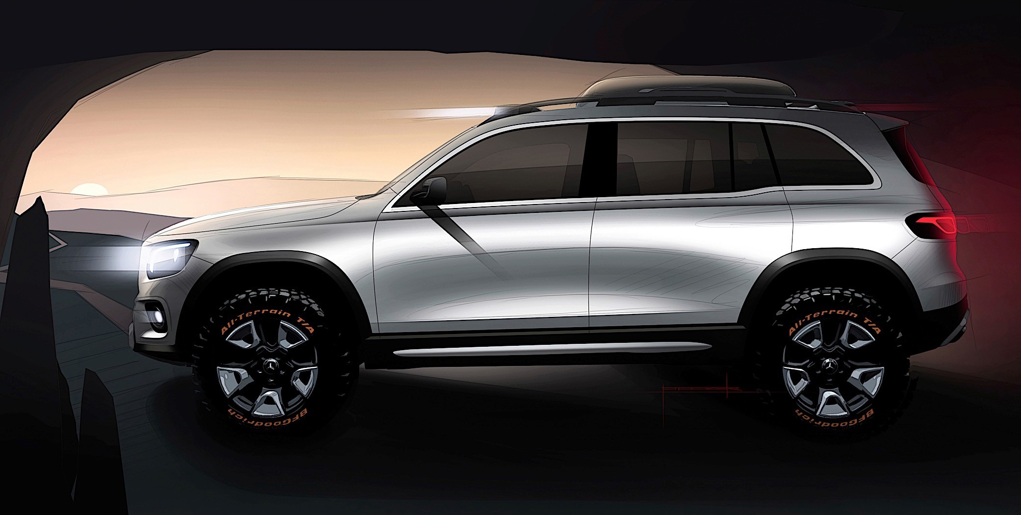 Tt Auto Sales >> Mercedes-Benz Concept GLB Looks Ready for the Great Outdoor in Shanghai - autoevolution