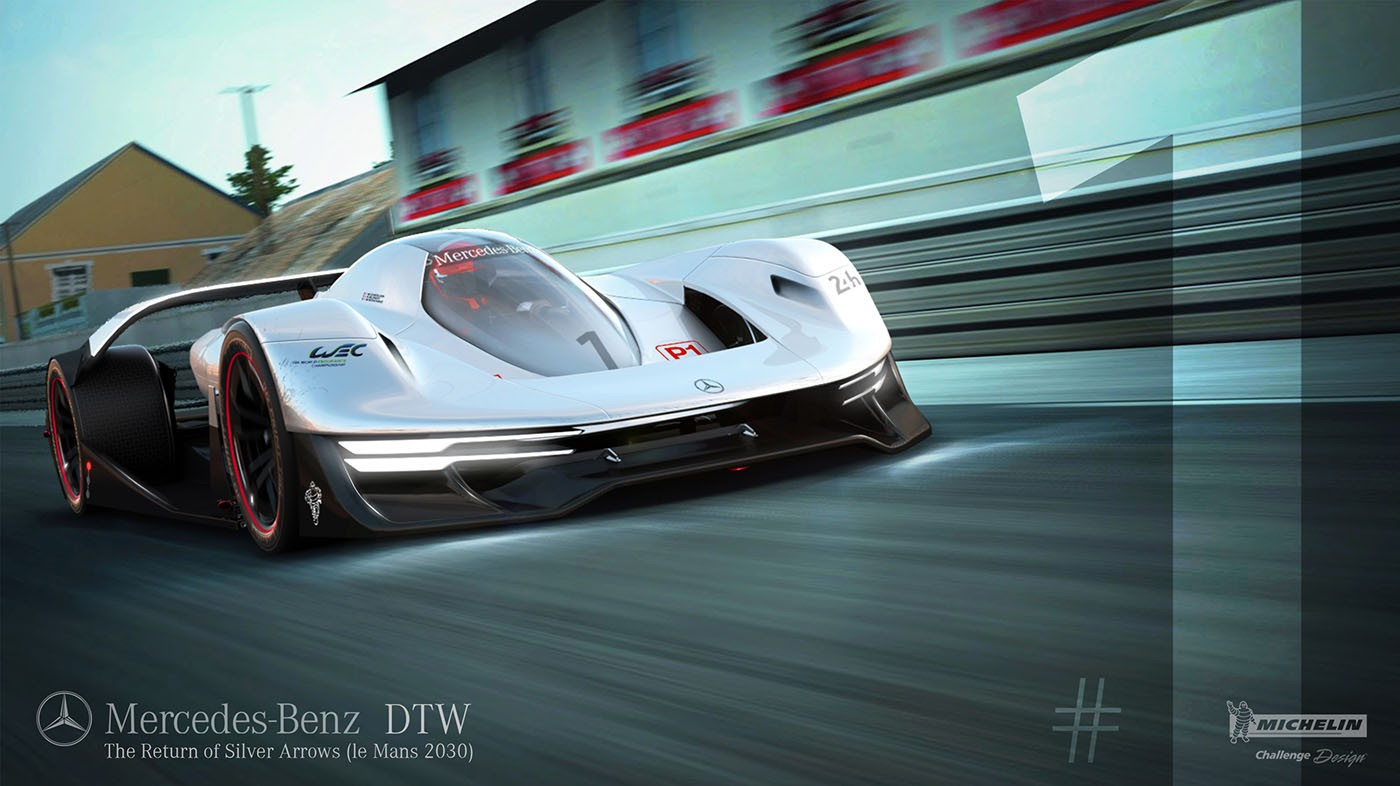 Mercedes-Benz DTW Concept Is a 2030 Le Mans Winner ...