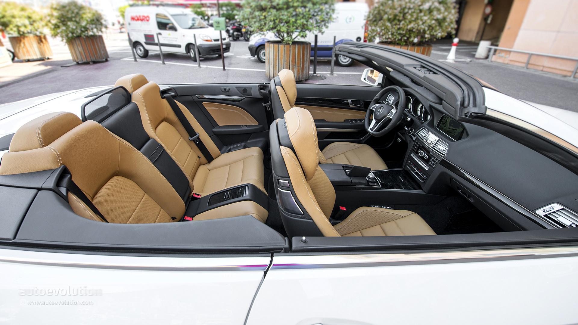 mercedes benz e 250 cgi cabriolet tested by autoevolution. Black Bedroom Furniture Sets. Home Design Ideas