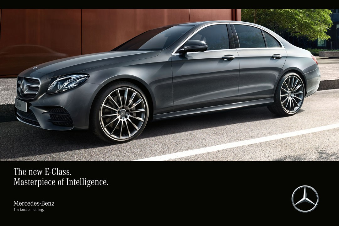 Mercedes Benz E Class Gets Its First Commercials They Speak About