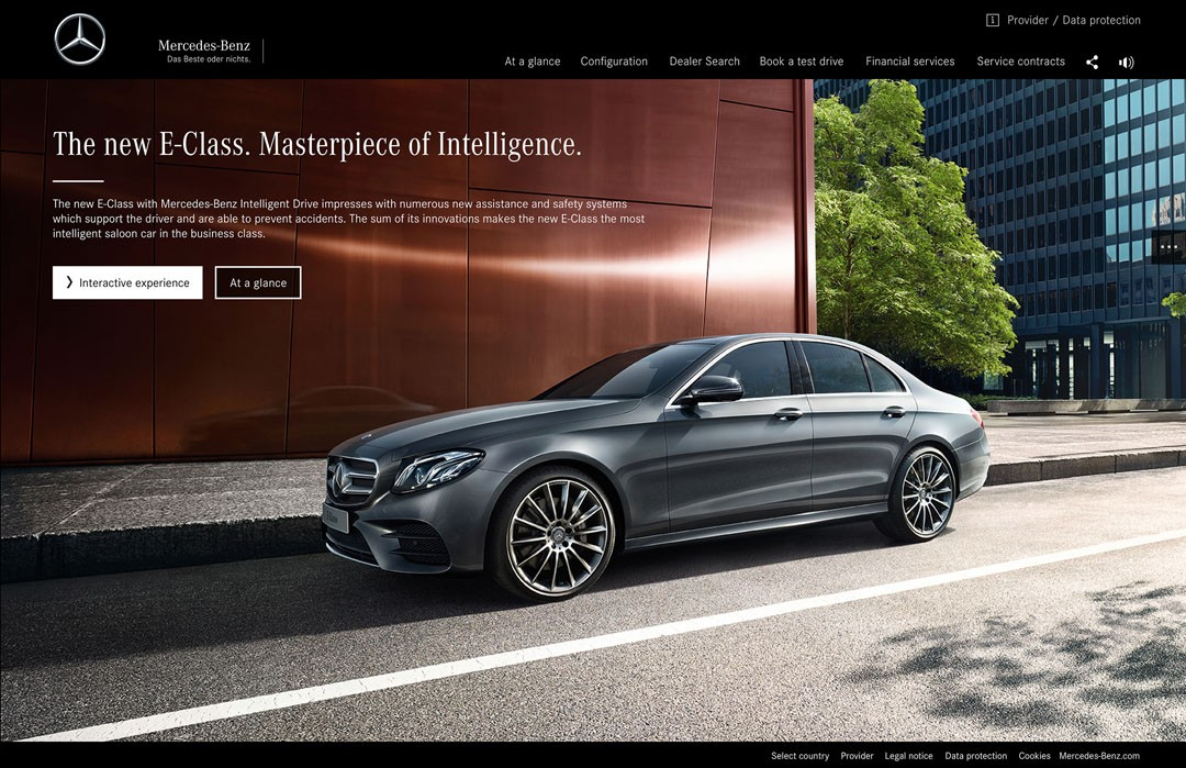 Mercedes benz e class gets its first commercials they for New mercedes benz commercial