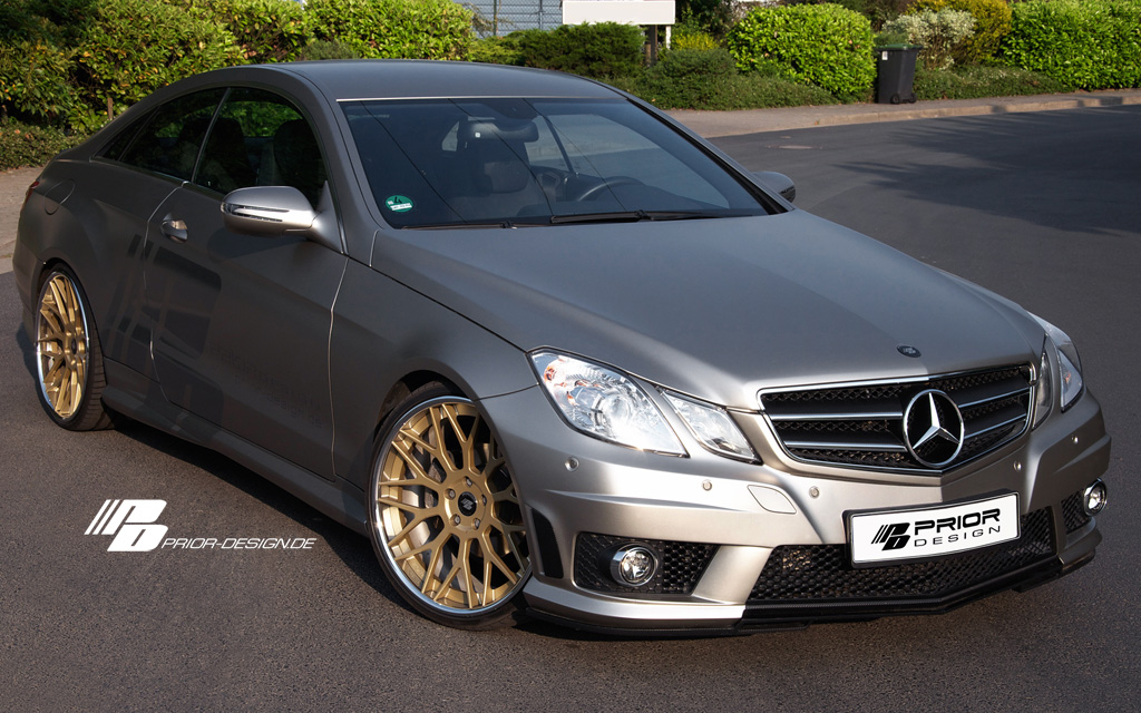 mercedes benz e klasse coupe by prior design gallery. Black Bedroom Furniture Sets. Home Design Ideas