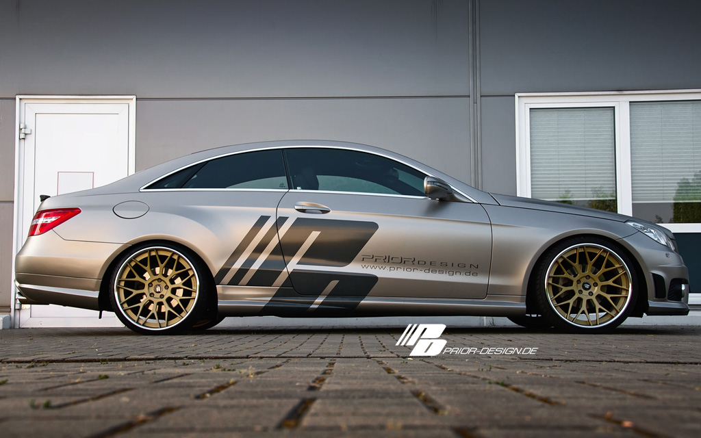 mercedes benz e klasse coupe by prior design gallery autoevolution. Black Bedroom Furniture Sets. Home Design Ideas