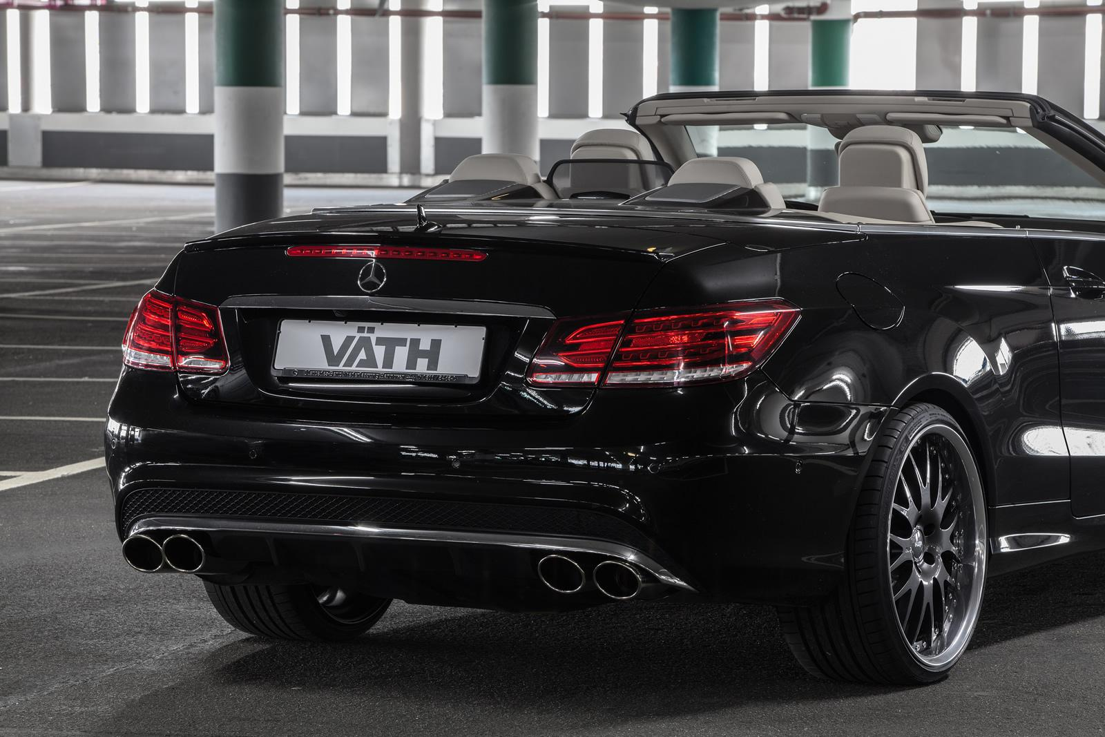 mercedes benz e500 cabriolet receives 550 hp from vath sounds like lots of fun autoevolution. Black Bedroom Furniture Sets. Home Design Ideas