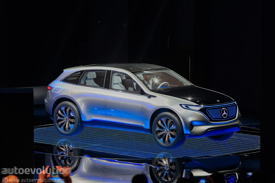 mercedes benz 39 eq line of electric vehicles could get
