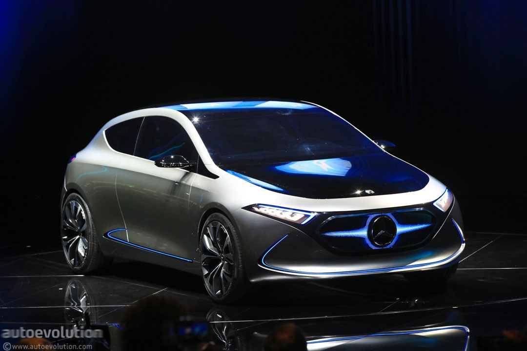 Mercedes benz eqa concept marks the switch to beautiful for Mercedes benz future