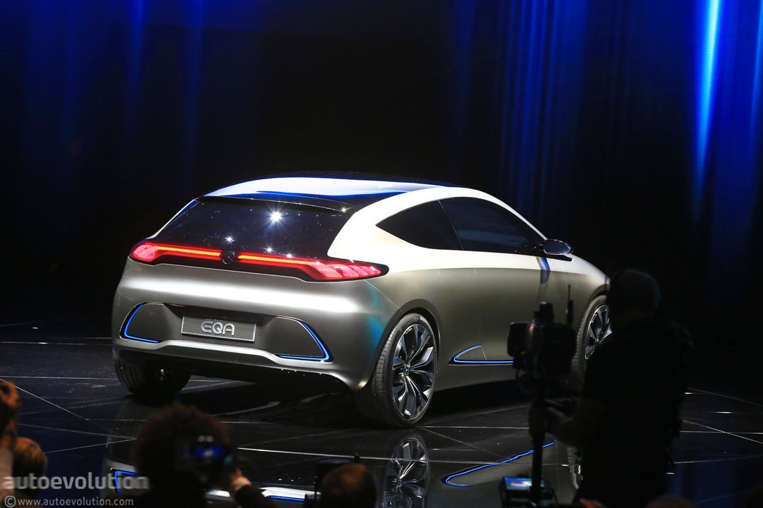 Mercedes-Benz EQA Concept Marks the Switch to Beautiful ...